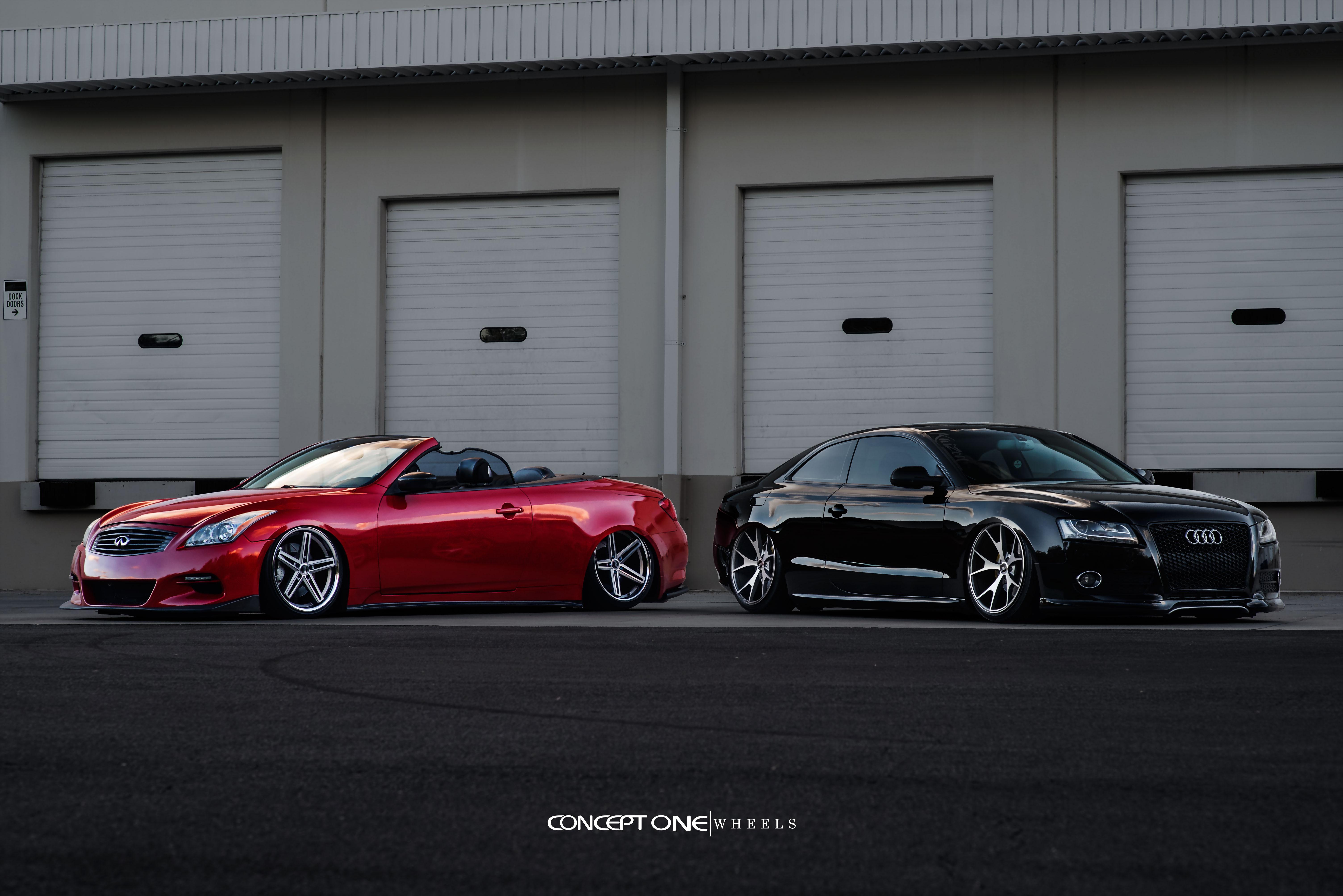 Audi A5 Cs 55 Infiniti G37 Csm 5
