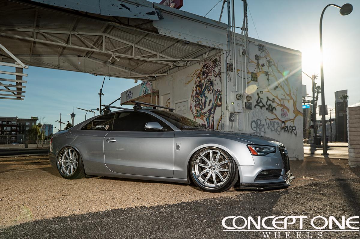 Julio S Audi A5 Premium Quattro On 20in Cr1 Wheels
